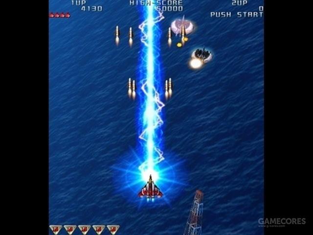 弹幕射击游戏《雷电》,暴雪将其中的飞机替换成了《星际》中的维京