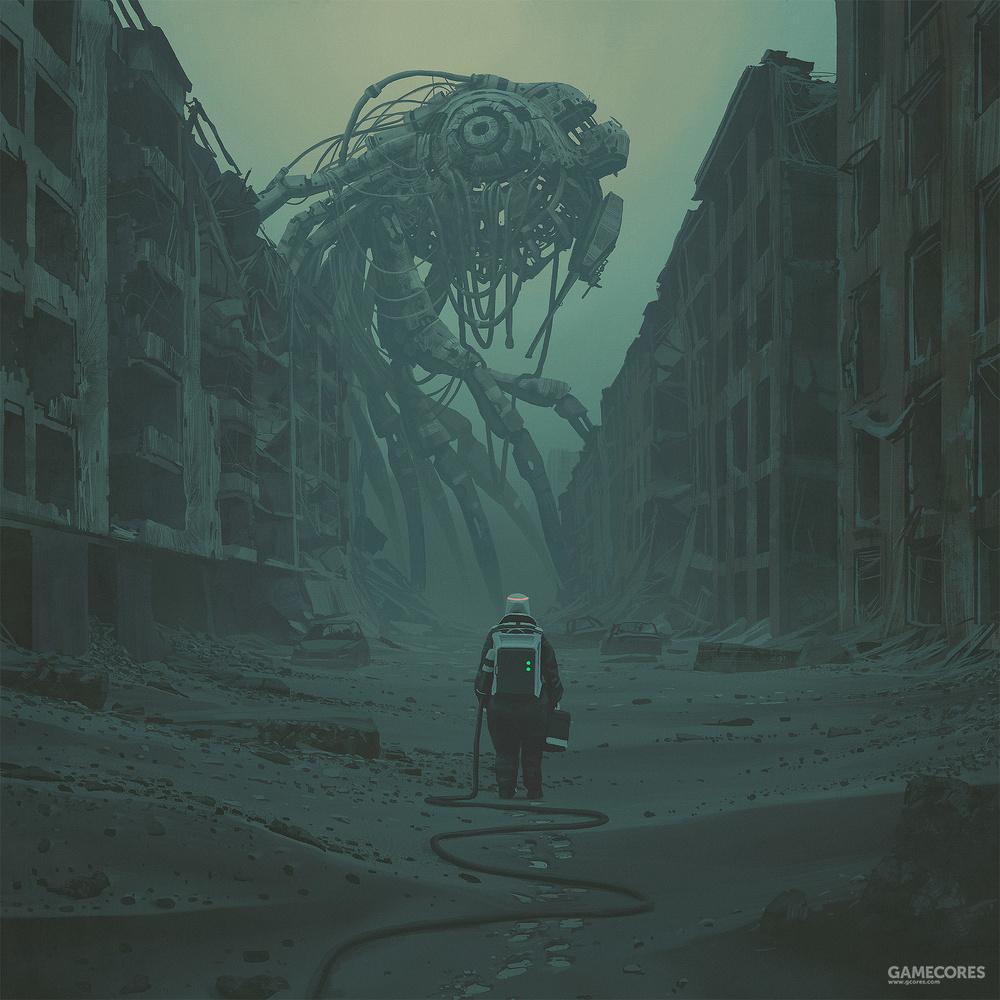 《电幻国度》之外,带你走进simon stlenhag的奇幻世界