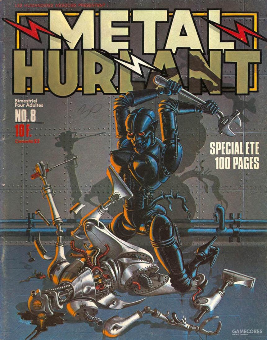 《爱,死亡,机器人》的背后,是这样一本杂志和几部电影图片
