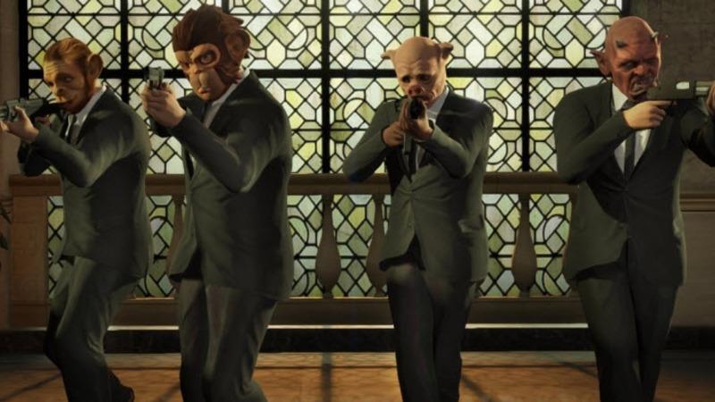 《GTA V》搶劫模式詳情判明