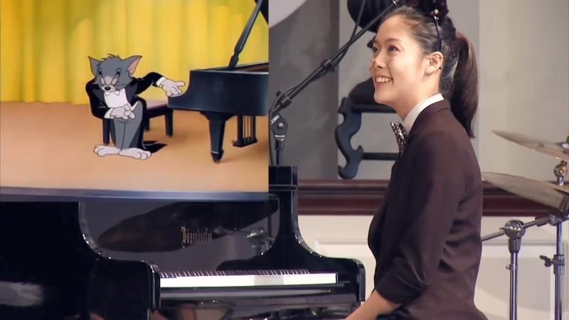 真不是動畫原聲?16歲華裔鋼琴少女陳家欣還原《貓和老鼠》配樂