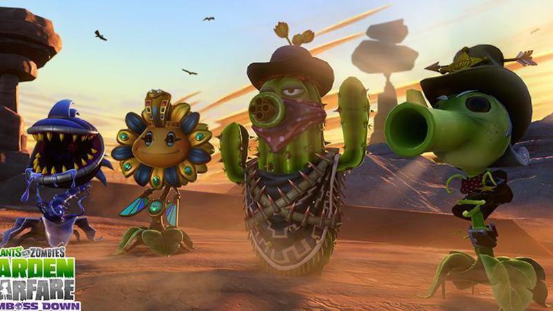 植物大戰殭屍:花園戰爭 第二個DLC