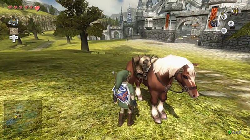 《塞爾達傳說 黃昏公主HD》明年3月登陸Wii U