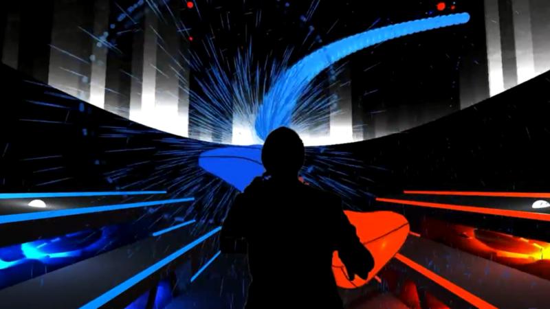 看看這個玩起來手忙腳亂的VR音遊