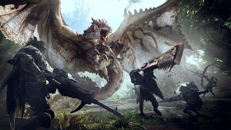 《怪物獵人 世界》6月20日晚將會舉辦實機公開展示會